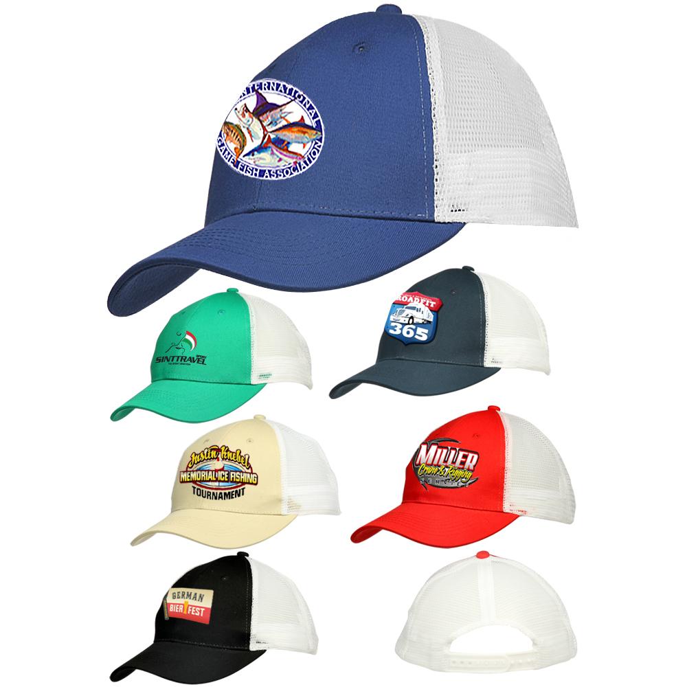 Wholesale Custom Screen Printed Baseball Caps & Bulk Personalized