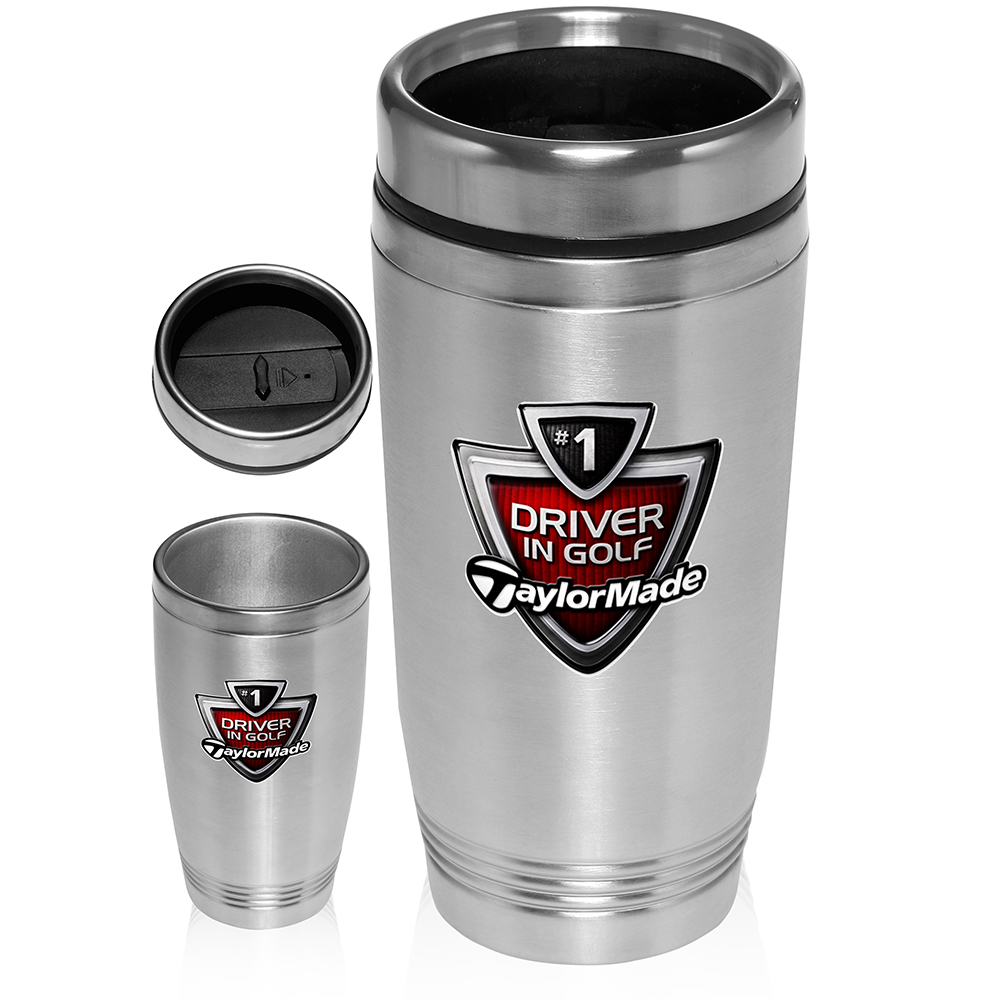 custom 16 oz double wall stainless steel tumblers dm299 discountmugs