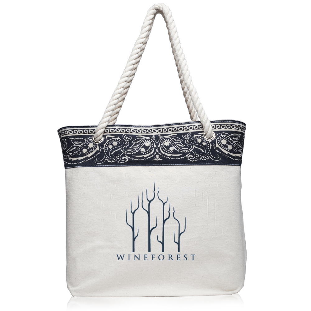 a2bb97aad61 Paisley Pattern Canvas Tote Bags | TOT3779