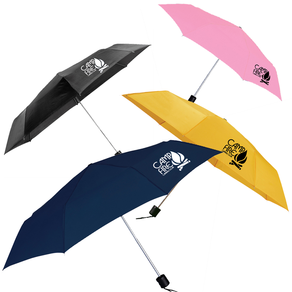 Custom Blue Skies Auto Folding Umbrellas   LE205016
