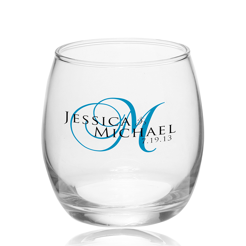 logo whiskey glasses 115 oz mikonos stemless wine glasses