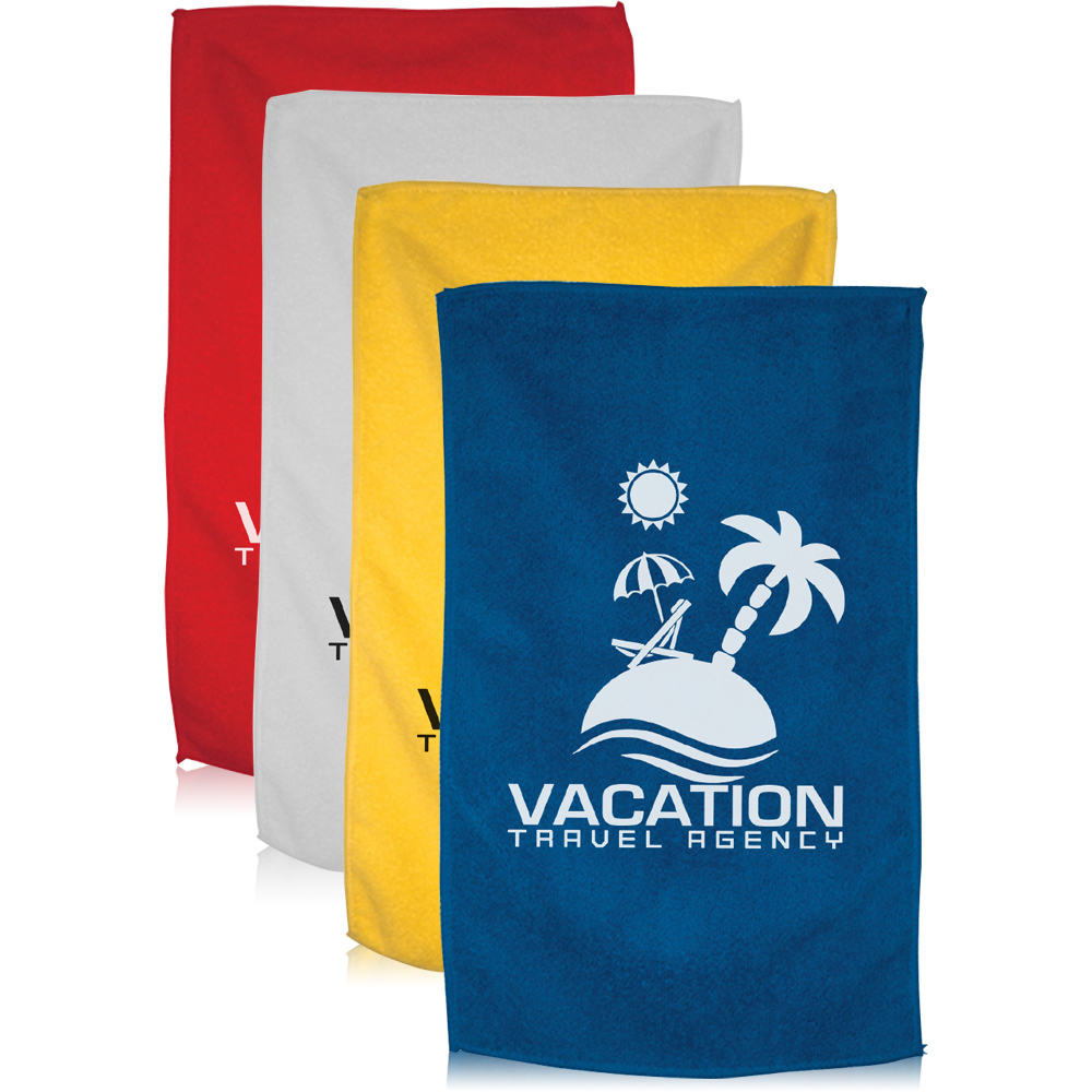 Personalized Spirit Towels: Personalized Spirit Rally Microfiber Towel