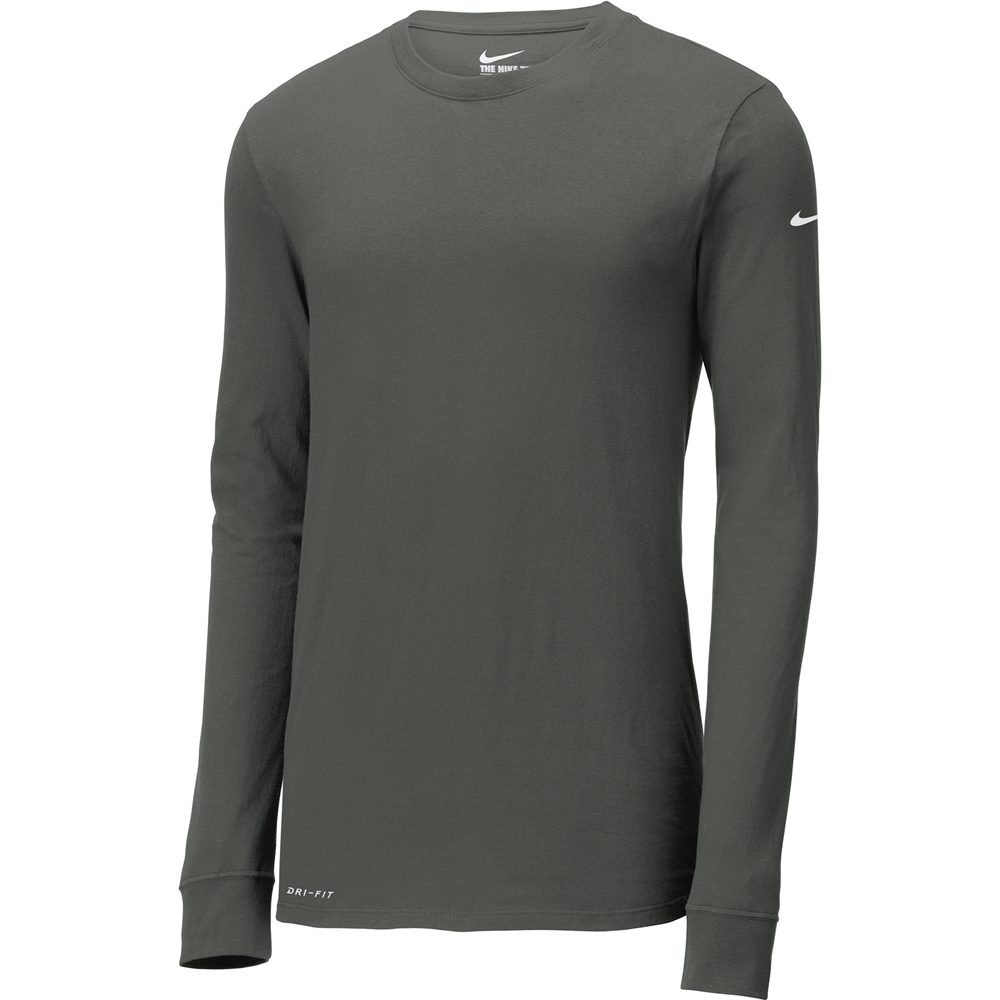 43ecedc85ae2b Custom Nike Dri FIT Cotton Poly Long Sleeve Tees