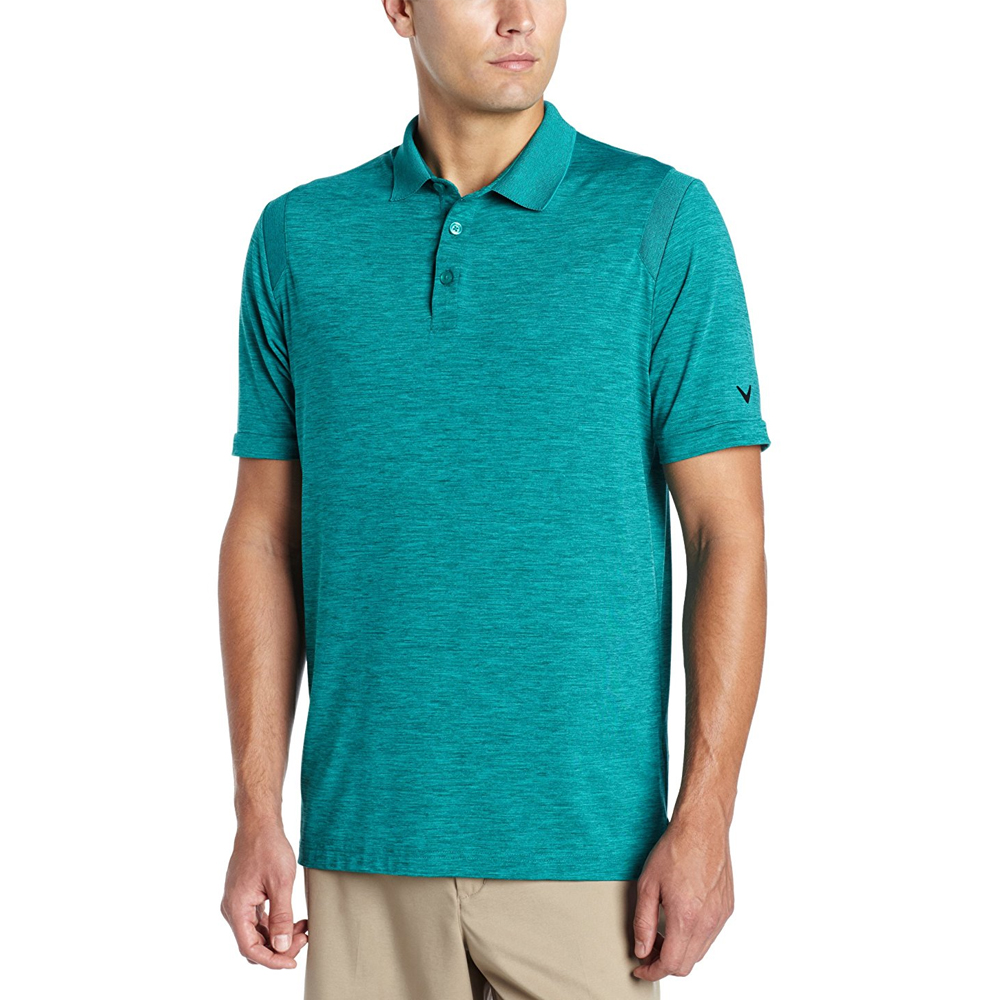 Cheap heathered performance polos callaway polo shirts for Where to buy polo shirts cheap