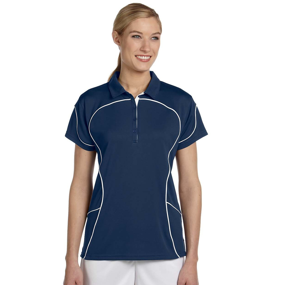 5388e0a9d Gallery. 0. Russell Women's Contrast Piping Athletic Polo Shirts | 434CFX