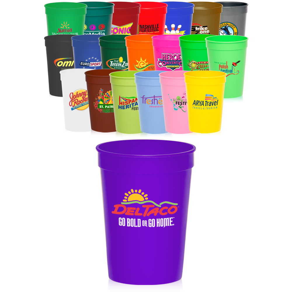 6706766190a5c Custom Plastic Cups - Personalized Plastic Cups with Lids
