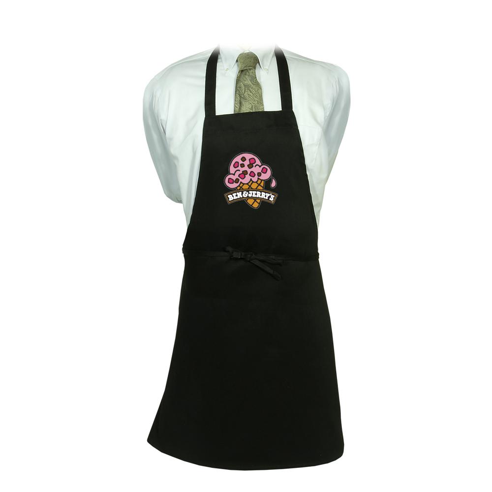 White apron mockup - Black 2