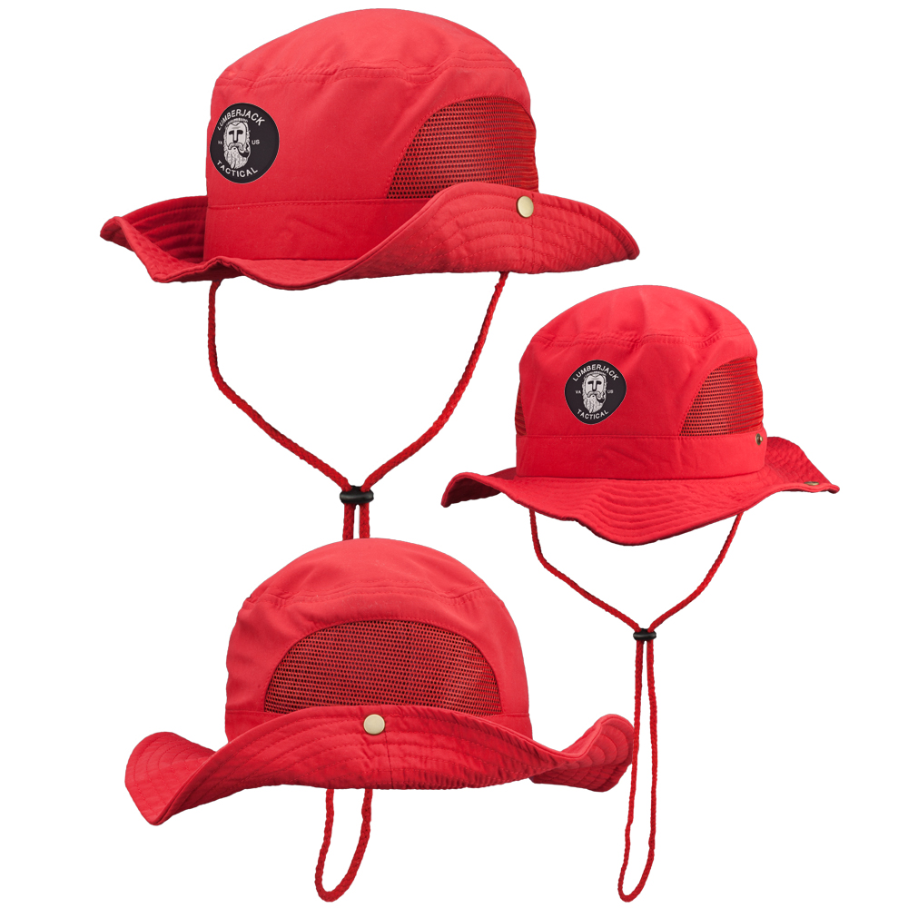 6ccede0f7a54e Custom Bucket Hat with Mesh Sides