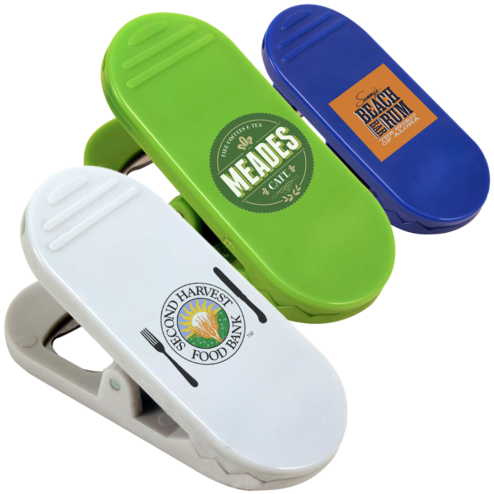 34ead464583c24 Custom Magnetic Bag Clips with Bottle Opener
