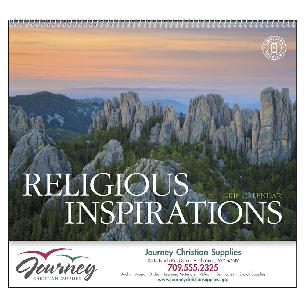 Custom Religious Inspirations Calendars | X11293 ...