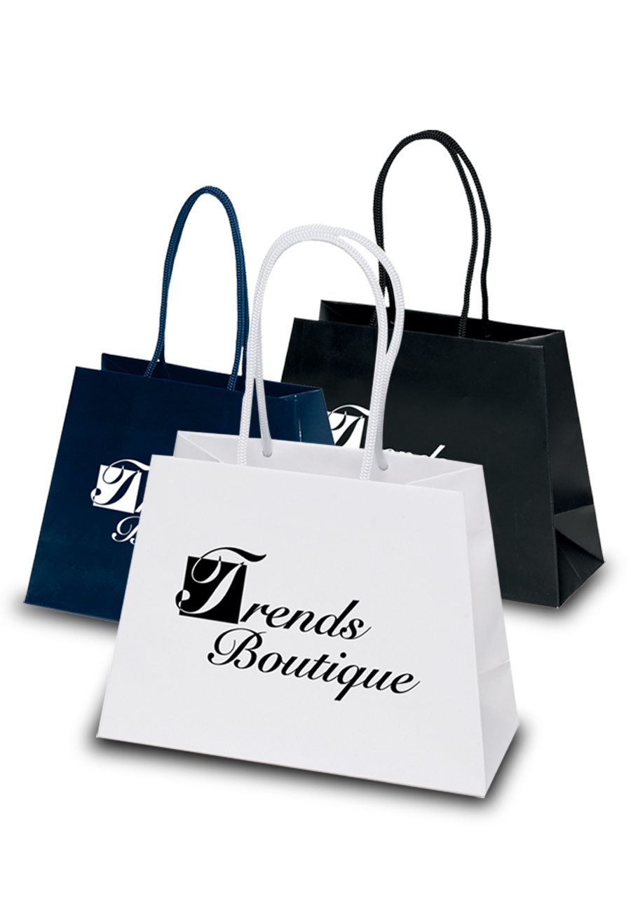 Custom Paper Bags - Paper Shopping Bags | DiscountMugs