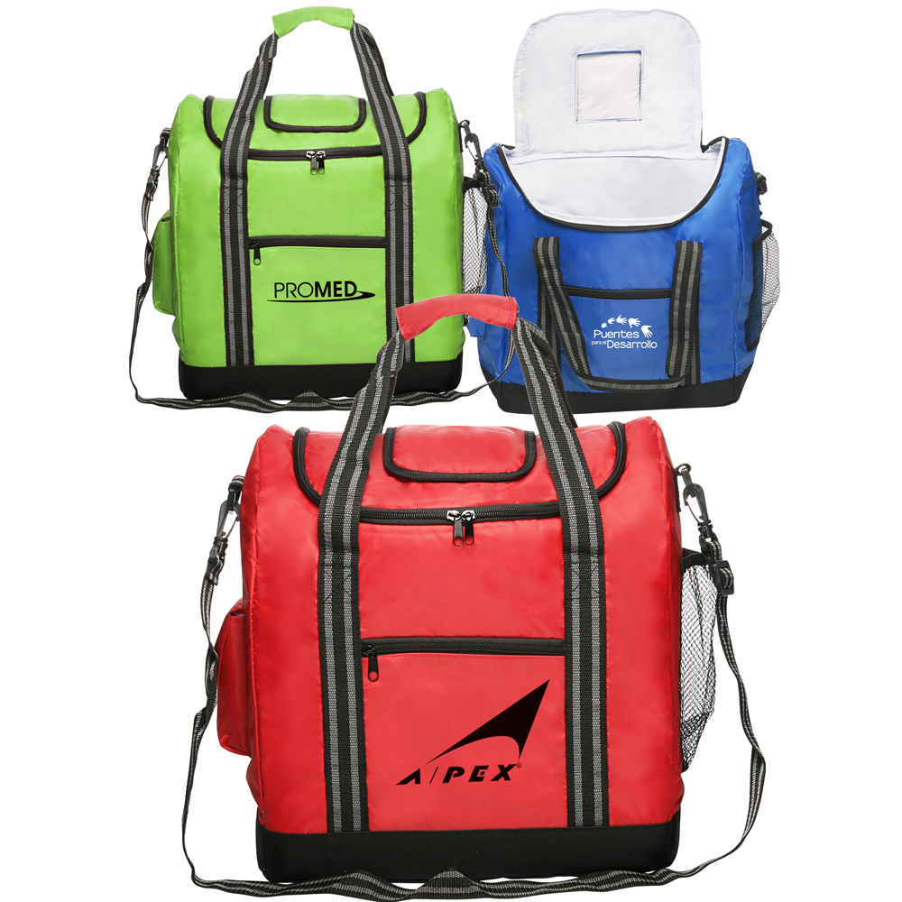 Personalized Flip Flap Insulated Cooler Lunch Bags Lun23