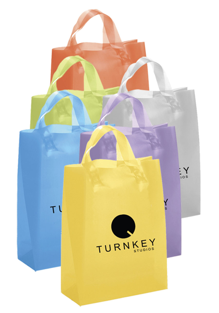 Custom Plastic Bags in Bulk | DiscountMugs