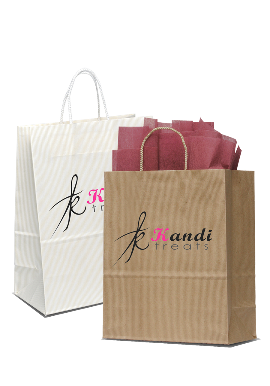 7 White Gift Bags Have A Scratch Paper Panel With Rainbow Drop Pattern Under The Black Matte Surface Allows You To Personalised Message Onto