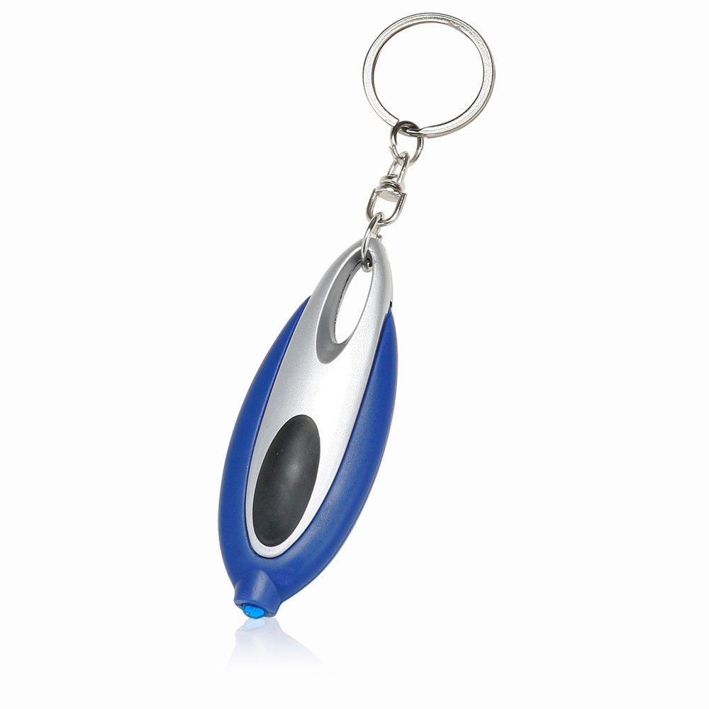 Personalized Oval Plastic Rubber Keychains