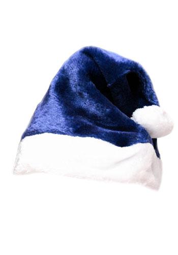 f347d53eb8583 Plush Santa Hats. Product Details. rich navy blue ...