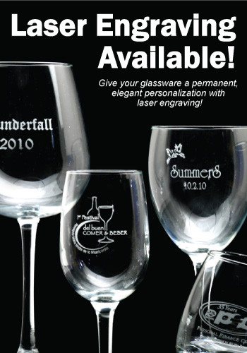 Personalized 20 75 Oz Rioja Grand Wine Glasses 5420al