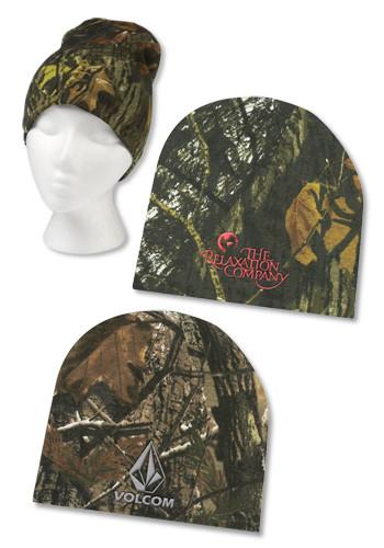 a3b85fb0c8c Custom Realtree Mossy Oak Camouflage Beanies