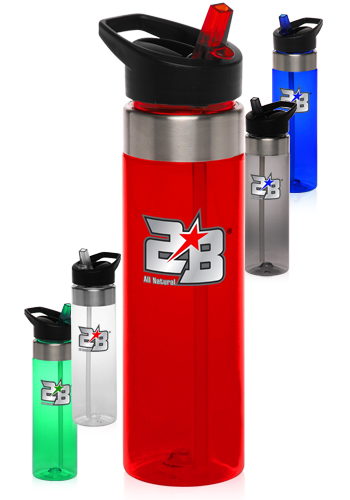 24 oz. Tritan Plastic Water Bottles