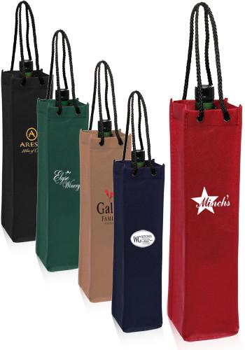 8078abeb29 Personalized Non-Woven Single Wine Bottle Bags