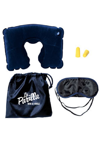 f1d580eaf Travel Pillow Kits With Ear Plugs. Product Details. Includes an eye mask ...