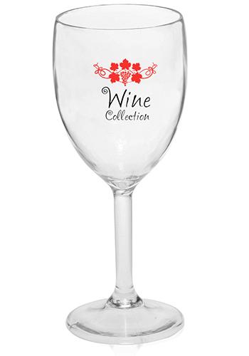 18074de7cfe Personalized 10 oz. Plastic White Wine Glasses