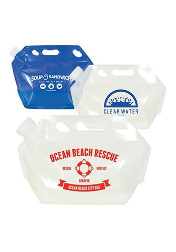 Custom 2 Gallon Emergency Water Bags Cremerwtbg