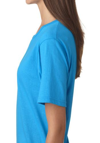 Printed Anvil Ladies Short Sleeve Scoop Neck T Shirts