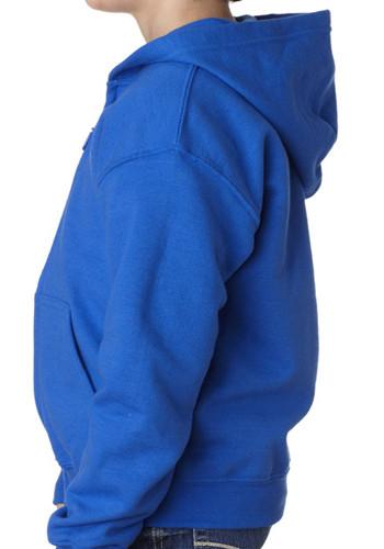 Personalized Gildan Youth Zipper Hooded Sweatshirts