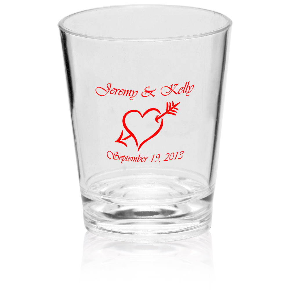 Personalized 1.5 oz. Translucent Plastic Shot Glasses | SHOT02 ...