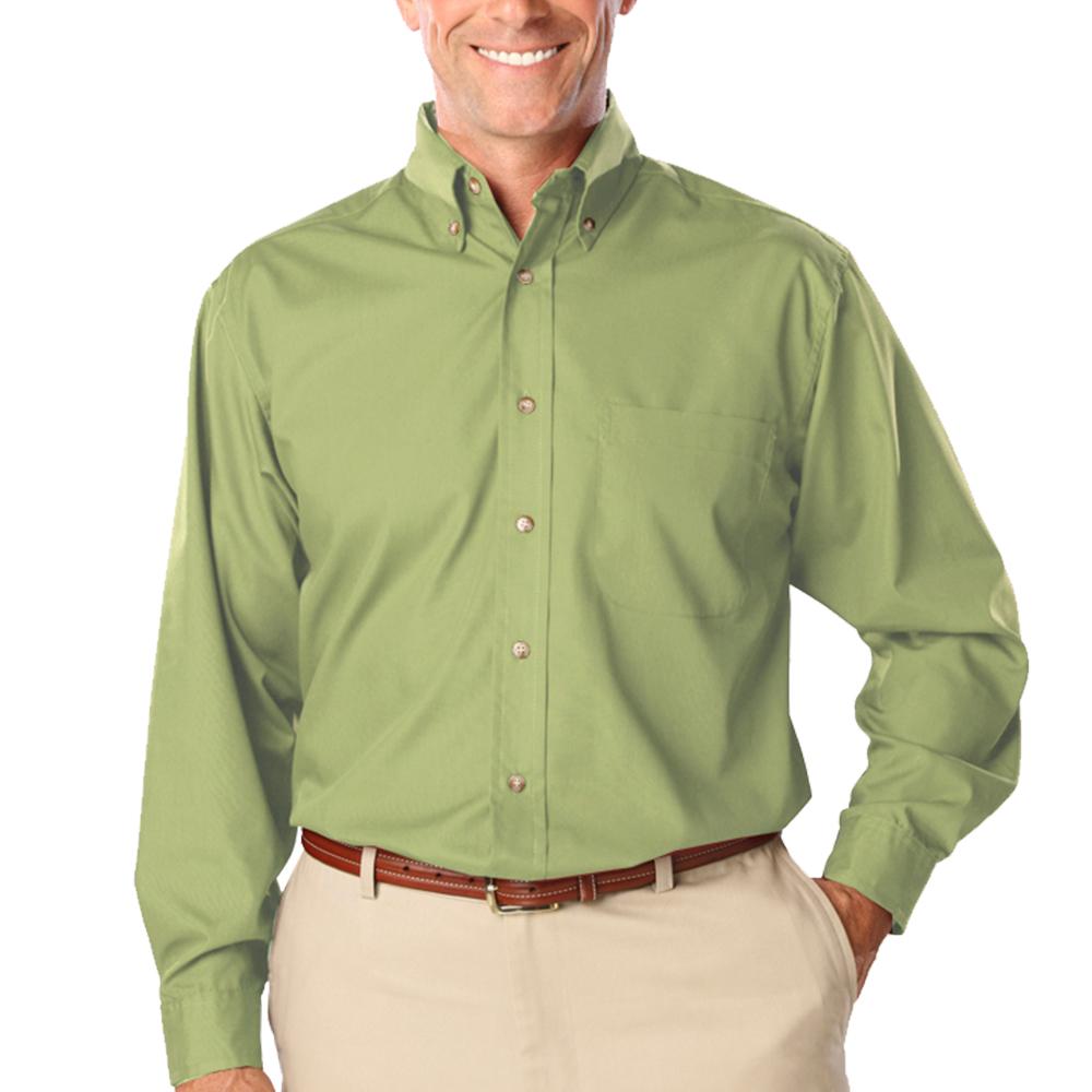 Custom Blue Generation Mens Tall Long Sleeve Dress Shirts