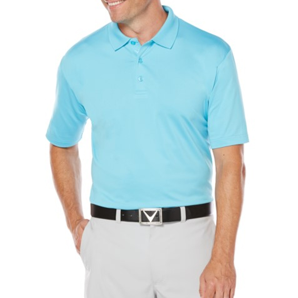 Personalized Callaway Mens Opti Dri Chev Polo Shirts Cgm550