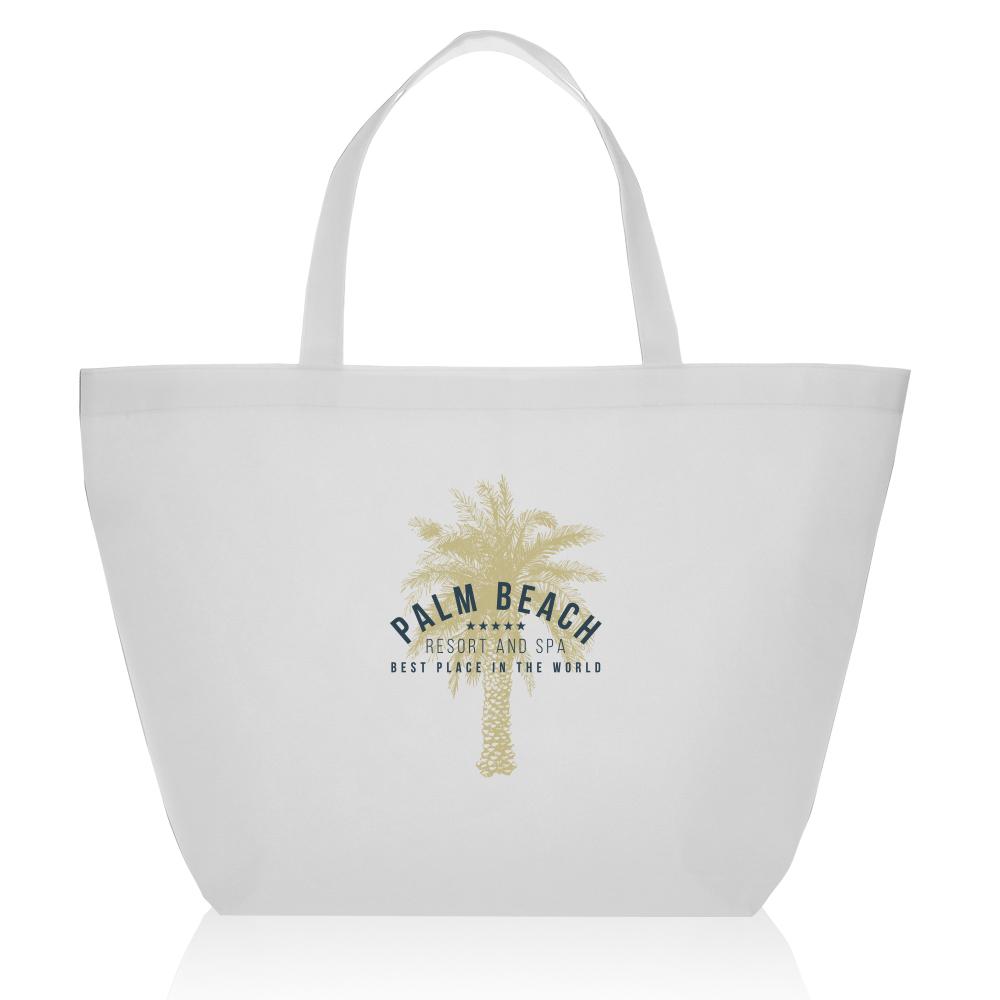 Custom Budget Non-Woven Shopper Tote Bags  c38c2cfc1