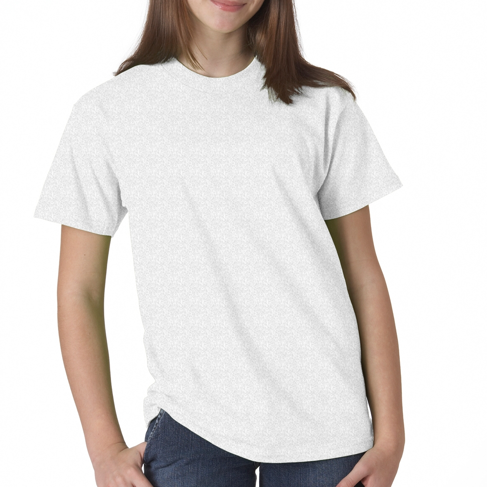 9120483f Printed Hanes Beefy-T Youth T-shirts | 5380 - DiscountMugs