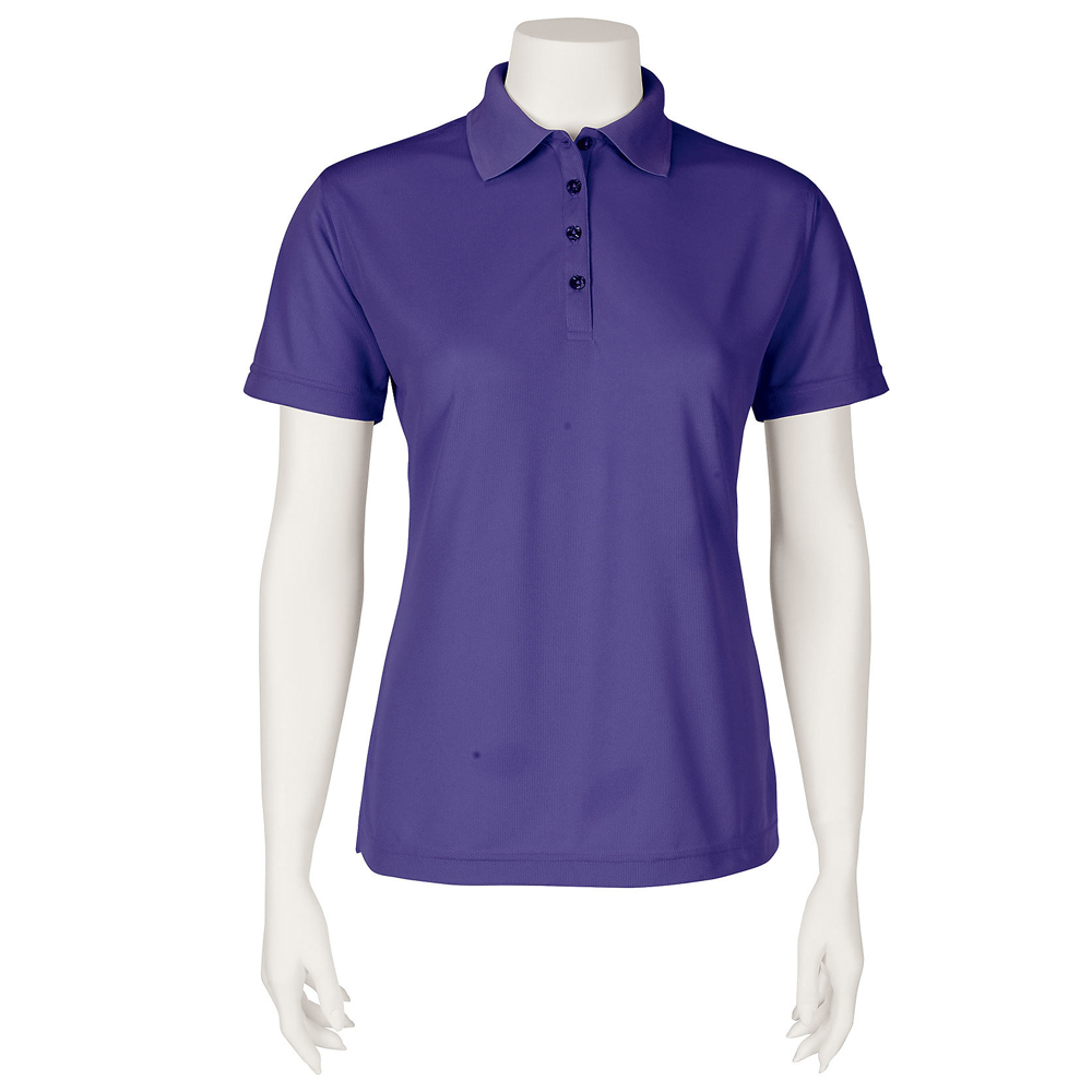Embroidered Screenmates Womens Mesh Polo Shirts Sm0104 Discountmugs