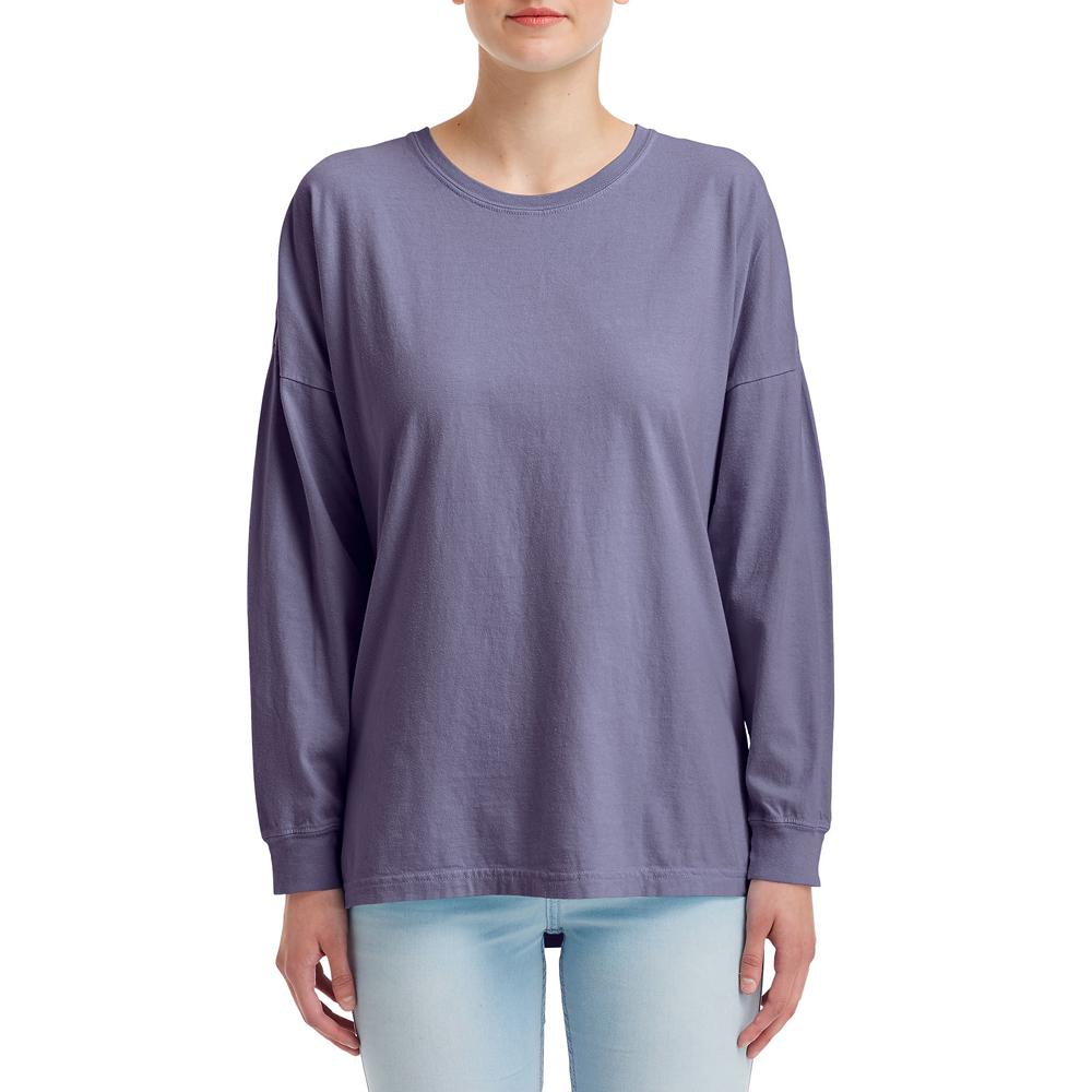 a7a661a1159e Printed Comfort Colors Adult Oversized Long Sleeve Tees |CC6054 -  DiscountMugs