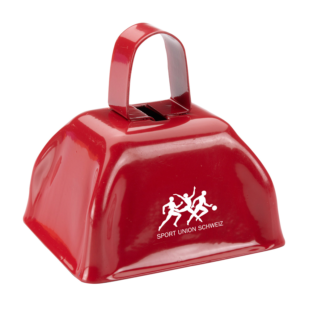 Personalized Cow Bell Noisemakers | EM2455 - DiscountMugs