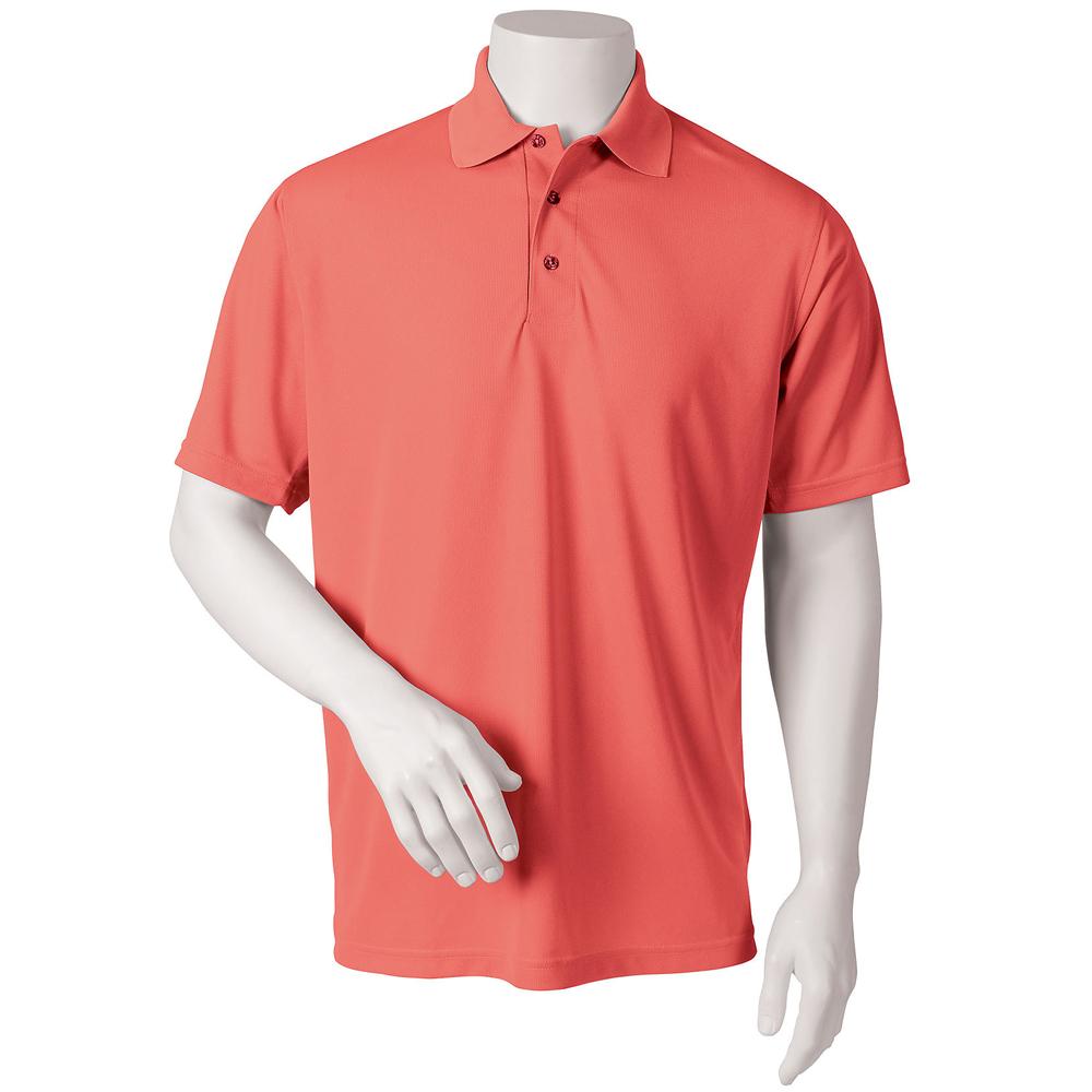 Embroidered Paragon Solid Mesh Polo Shirts Sm0100 Discountmugs