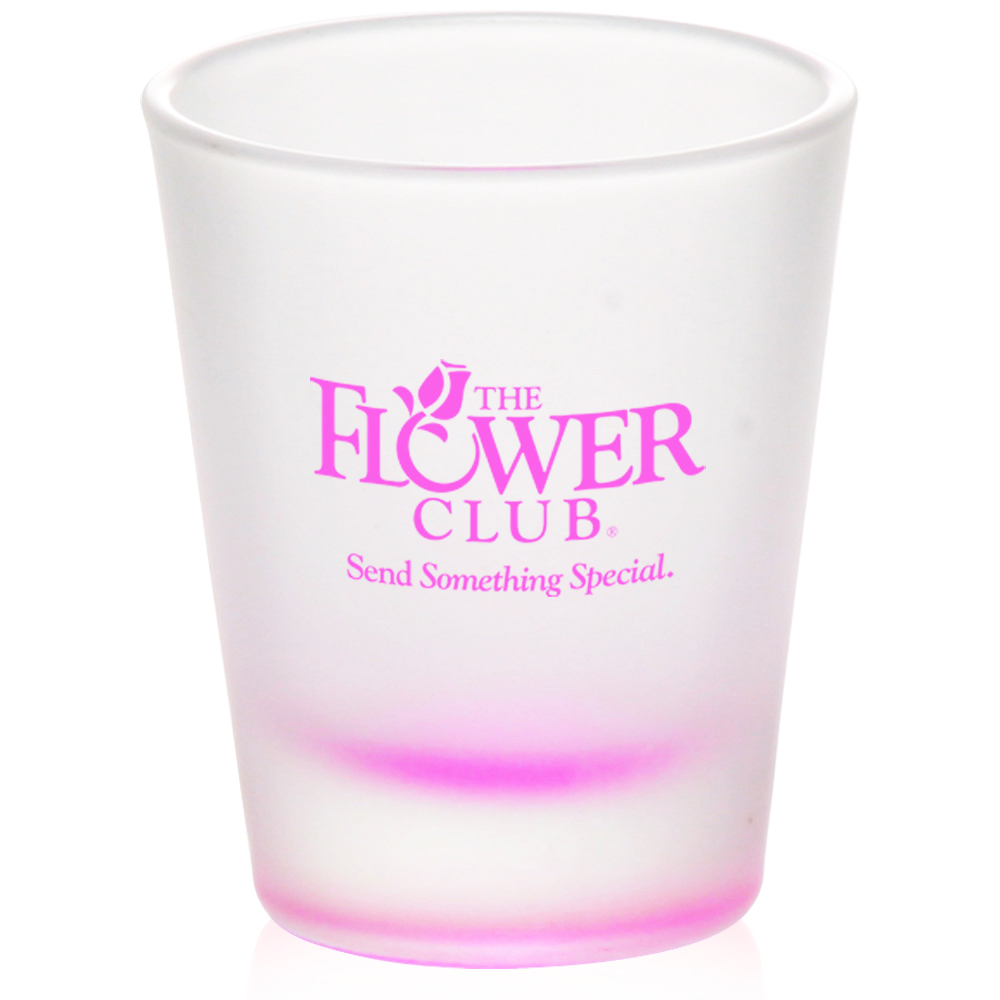 Custom 2 oz. Frosted Glass Shot Glasses | 5121FR - DiscountMugs