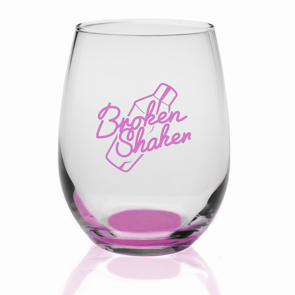 Personalized 9 oz. Libbey Stemless Wine Glasses | 207 - DiscountMugs