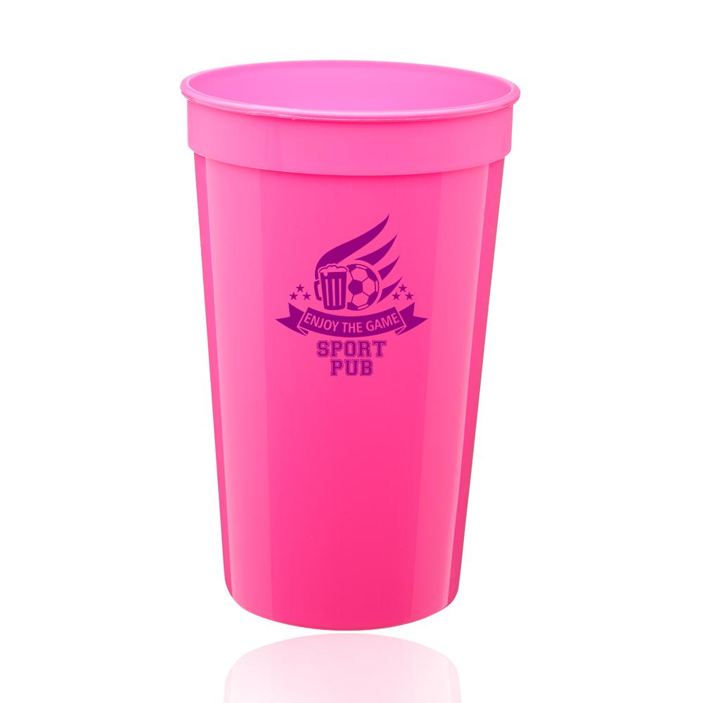 26ff617243d 22 oz. Plastic Stadium Cups | SC22