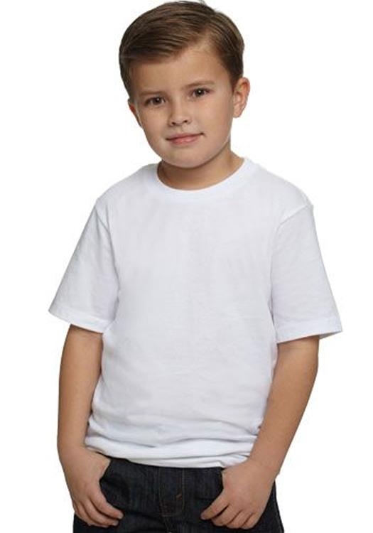 Next level wholesale custom printed bulk personalized Boy white t shirt