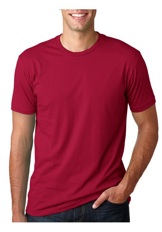 ea7aafd7 Printed Next Level Mens Short Sleeve T-shirts | NL3600 - DiscountMugs