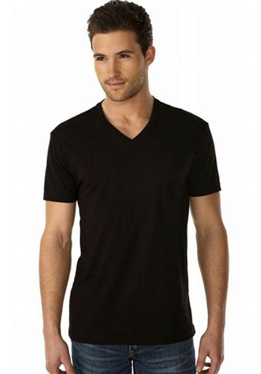 printed next level men s short sleeve v neck tees nl3200 rh discountmugs com men's v neck shirts men's v neck t shirts