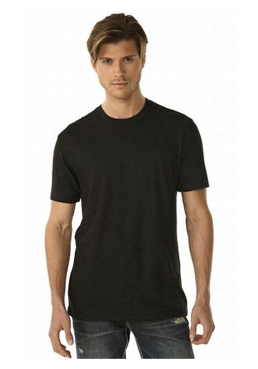 2ef7eeb152c Printed Next Level Mens Tri-Blend Crew T-shirts