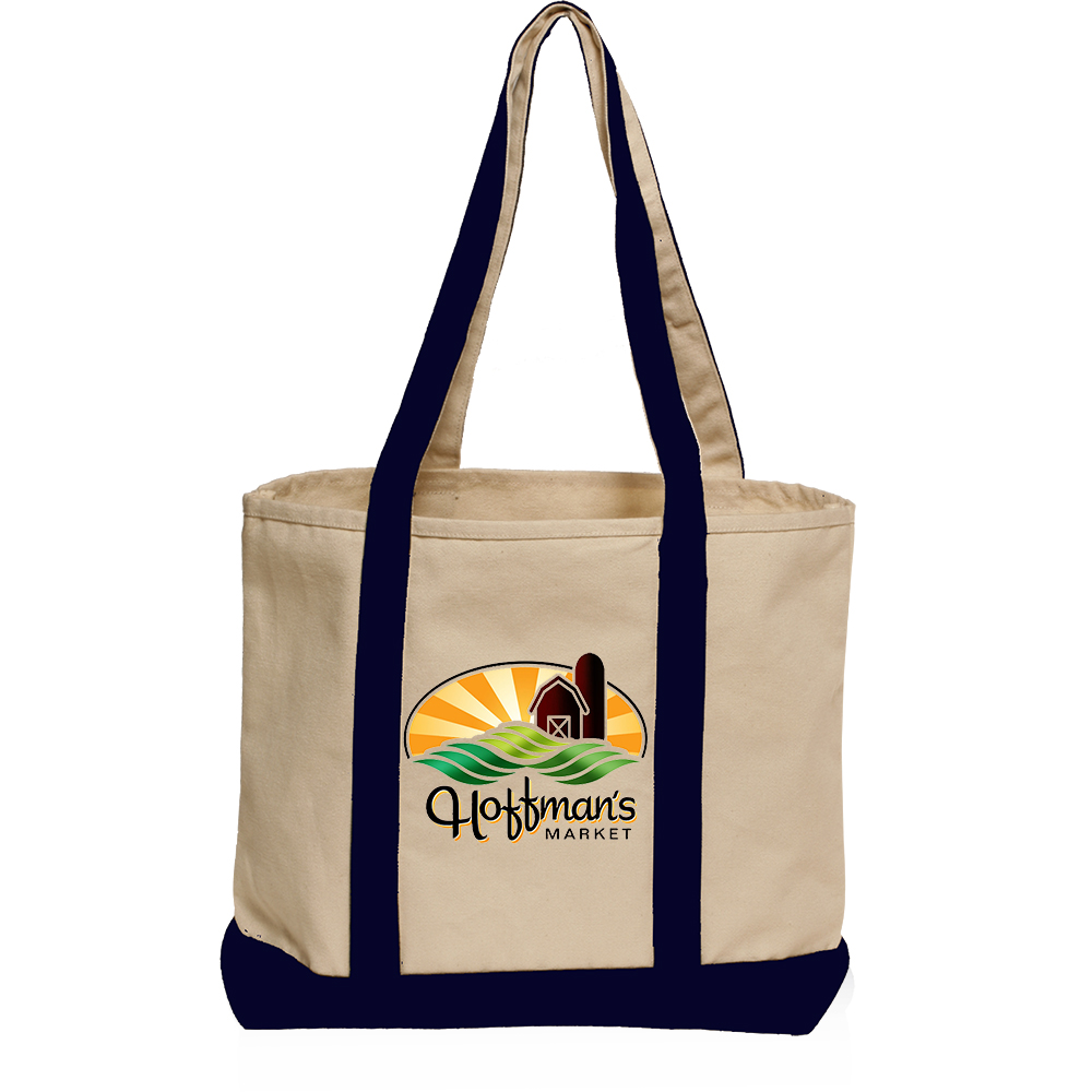 Personalized Heavyweight Cotton Tote Bags  671bed342208