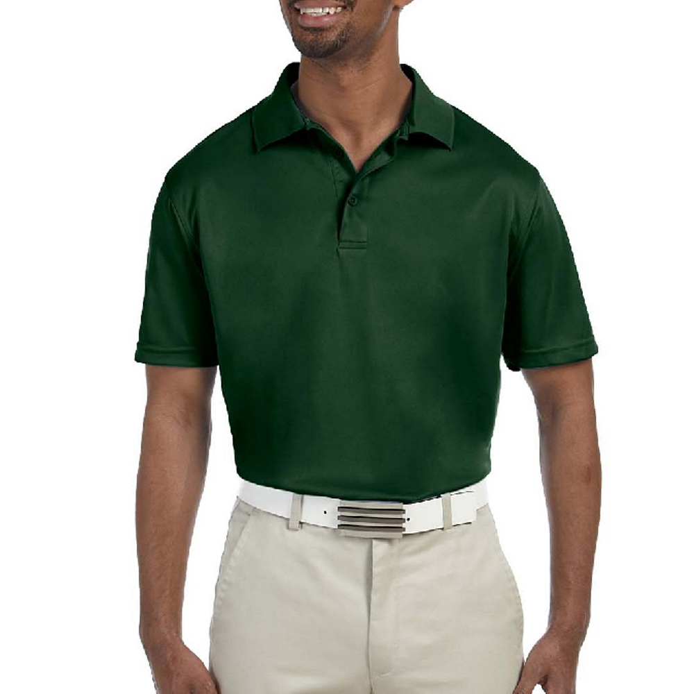 842ac9c0 Embroidered Harriton Men's Polytech Polo Shirts | M315 - DiscountMugs