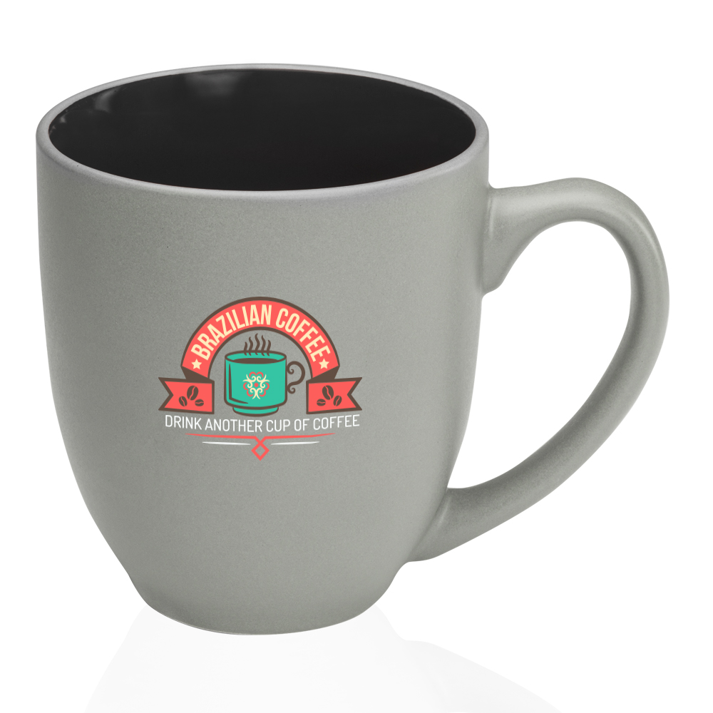 34d95ff8dce Custom 16oz Pop Out Bistro Two Tone Coffee Mugs | 5008 - DiscountMugs
