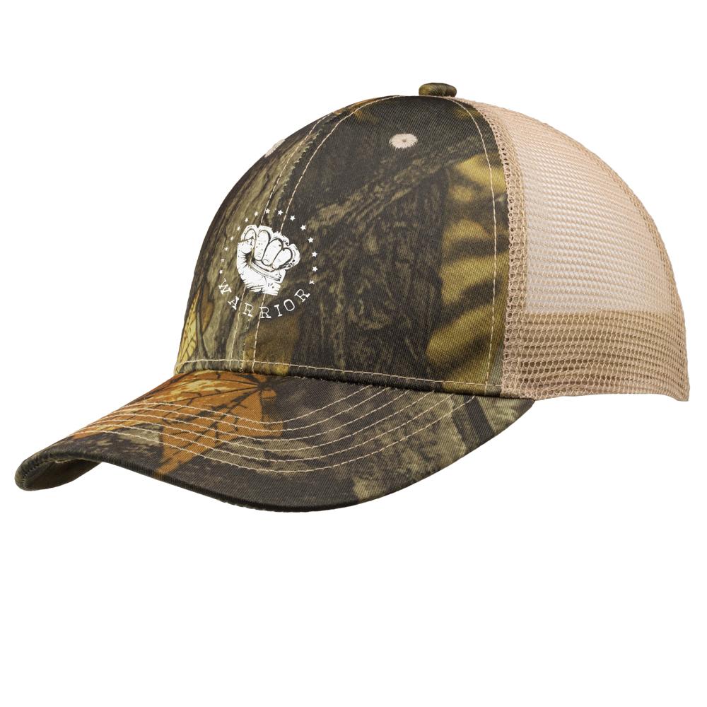Embroidered Woodland Camo Mesh Trucker Hats  bce681b51497