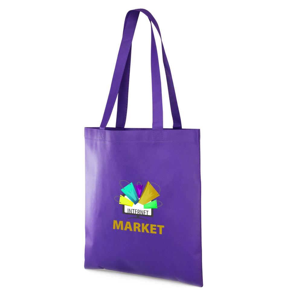 Fabulous Printed Non-Woven Reusable Tote Bags   TOT13 - DiscountMugs IV71